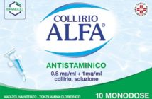 collirio alfa antistaminico
