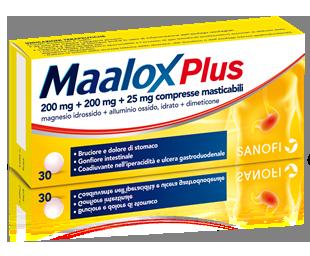 MAALOX PLUS Compresse masticabili